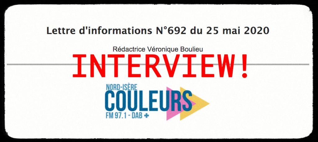 Interview Couleurs FM
